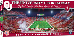 Oklahoma Sooners 1000 Piece Stadium Panoramic Jigsaw Puzzle