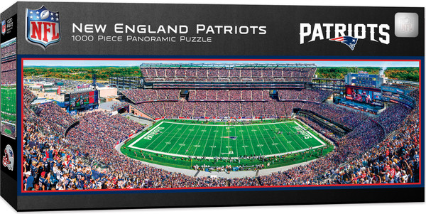 New England Patriots 1000 Piece Stadium Panoramic Jigsaw Puzzle