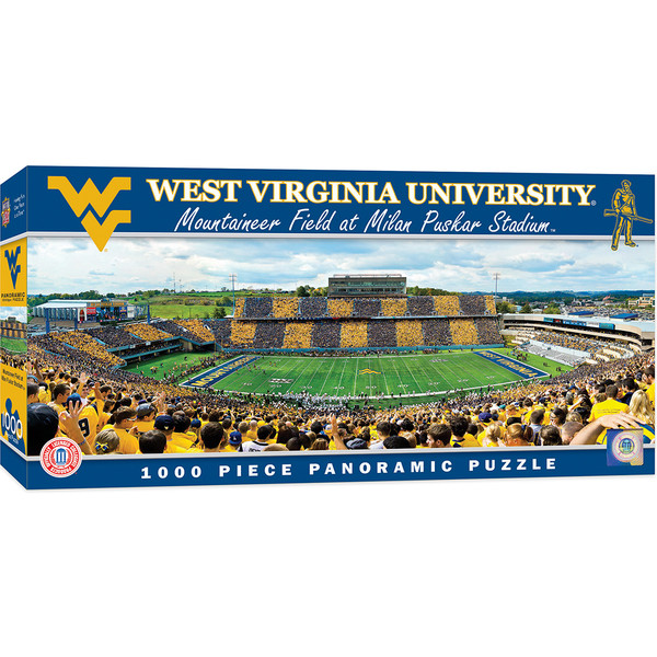 NCAA West Virginia Mountaineers Stadium Puzzle 500-Piece