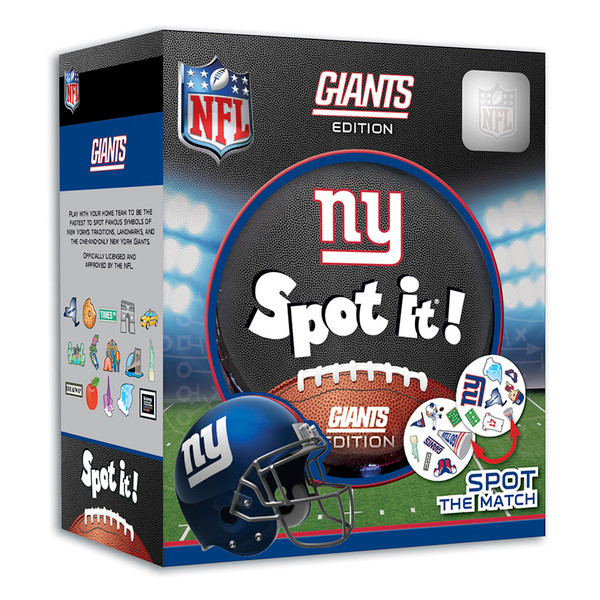 new product b317e f768d New York Giants Spot it! Card Game