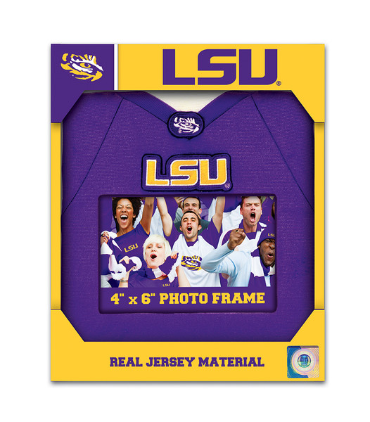 4 x 6 Uniform Photo Picture Frame MasterPieces NCAA Louisiana State LSU Tigers