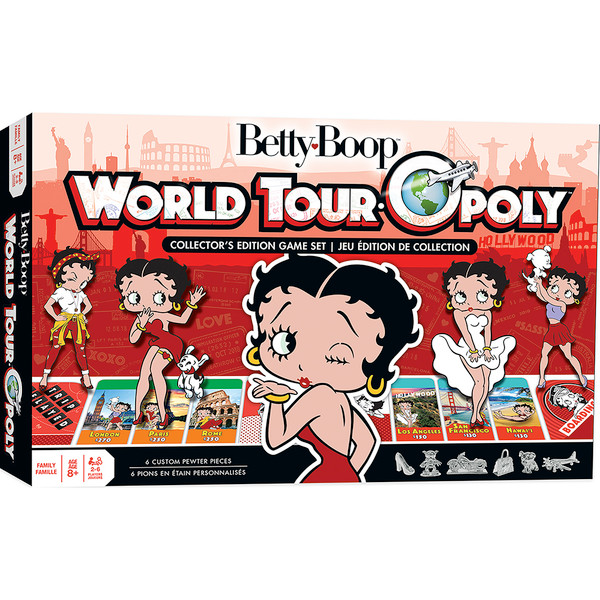 Betty Boop Opoly Board Game