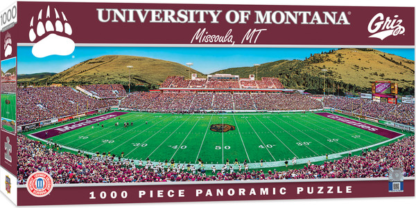 Montana Grizzlies 1000 Piece Stadium Panoramic Puzzle