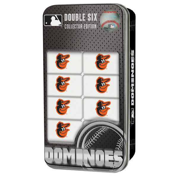 Baltimore Orioles Double-Six Dominoes