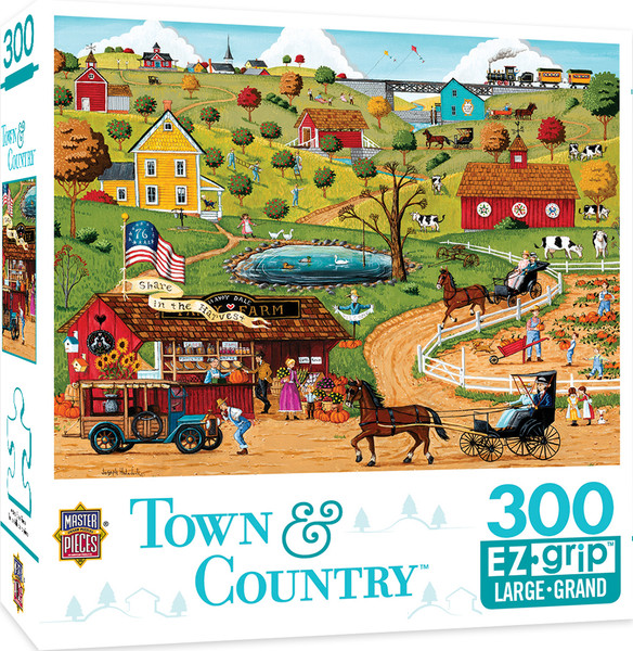 Town & Country Share in the Harvest - Large 300 Piece EZGrip Jigsaw Puzzle