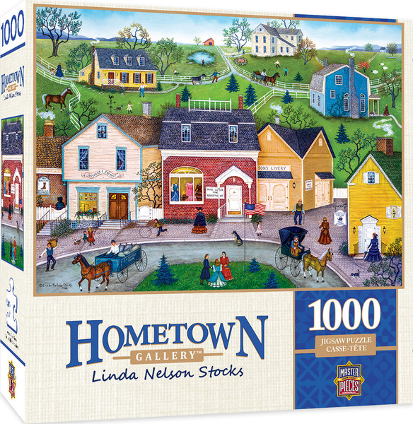 Hometown Gallery The Dress Shop - 1000 Piece Jigsaw Puzzle