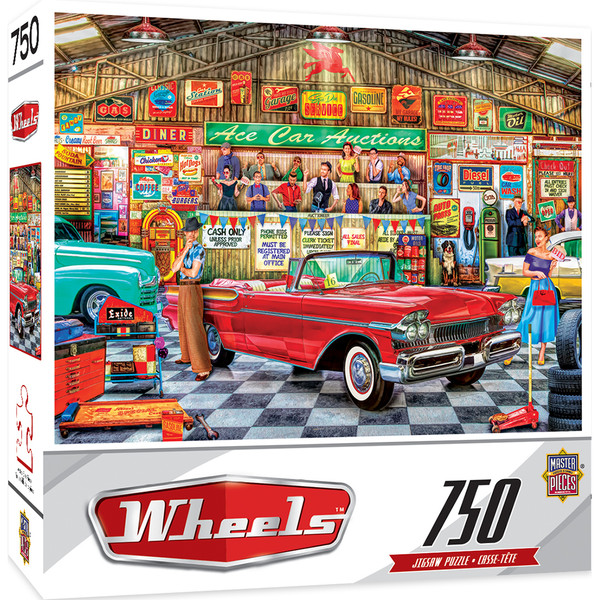 Wheels - The Auctioneer  - 750 Piece Jigsaw Puzzle
