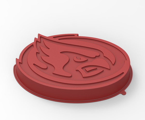 Iowa State Cyclones Cake Pan with Stand