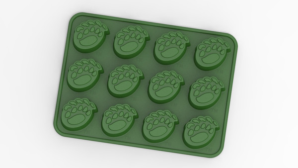 Baylor Bears Ice Tray and Candy Mold
