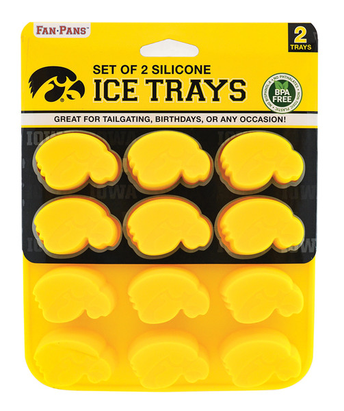 Iowa Hawkeyes Ice Tray and Candy Mold