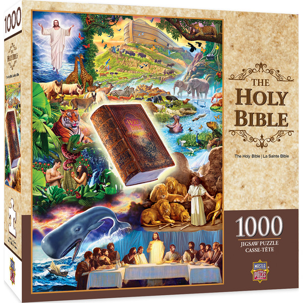 Holy Bible 1000 Piece Jigsaw Puzzle