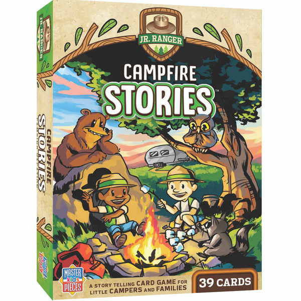 National Park Jr Ranger Games - Campfire Stories