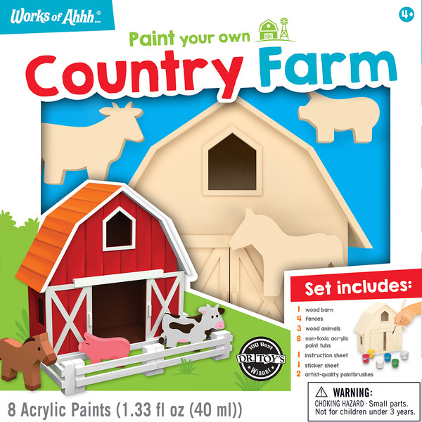 Country Farm Wood Paint Kit