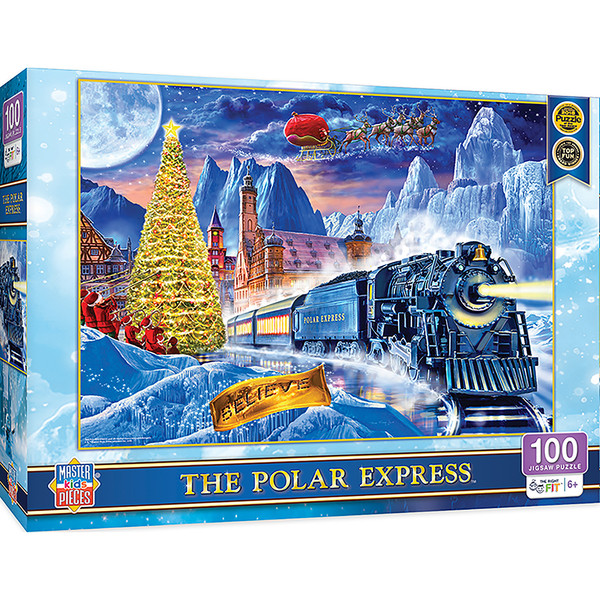 Right Fit - Polar Express 100 Piece Jigsaw Puzzle