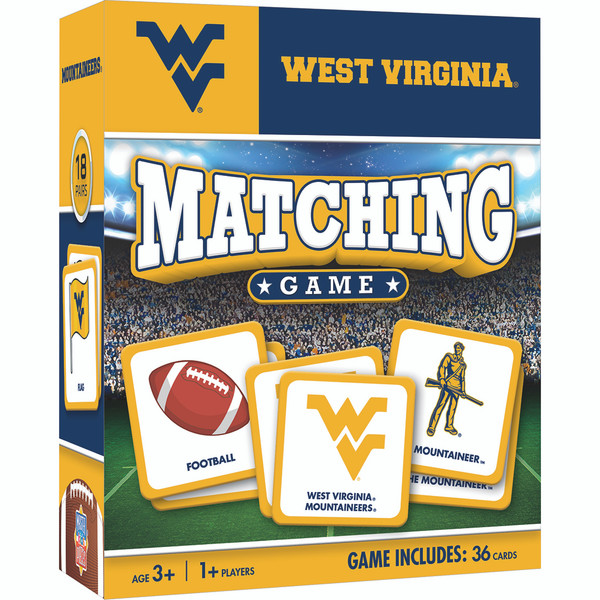 My Mountaineer Card >> West Virginia Ncaa Matching Game
