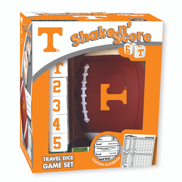 Tennessee Shake n' Score Travel Dice Game