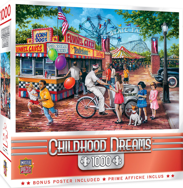 Childhood Dreams - Summer Carnival - 1000 Piece Jigsaw Puzzle