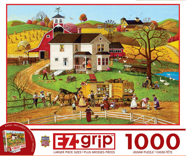 1000 EZGrip - The Travelling Man - Large 1000 Piece Jigsaw Puzzle