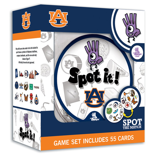 Auburn Spot It! Card Game