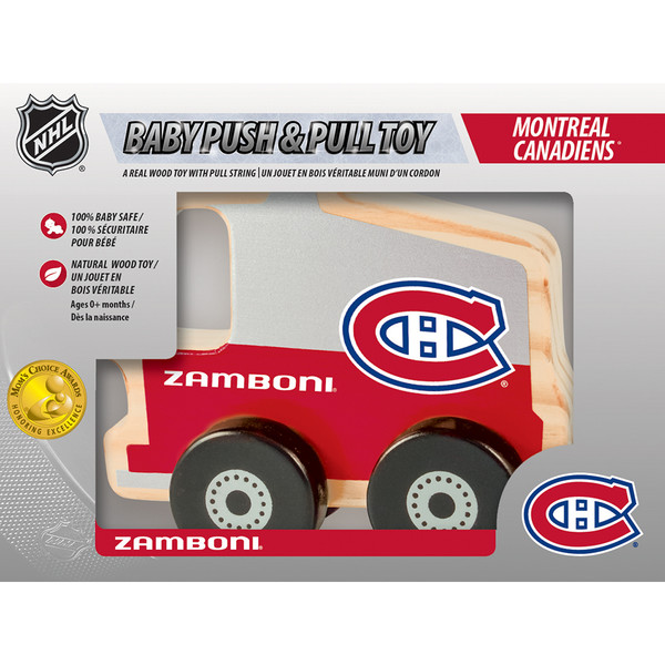 Montreal Canadiens Push & Pull Toy