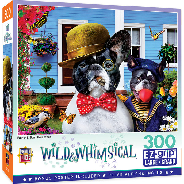 Wild & Whimsical - Father & Son 300 Piece EzGrip Puzzle