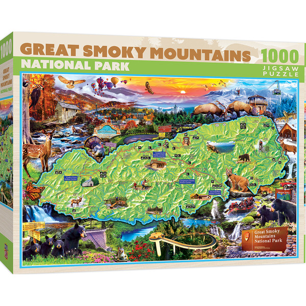 National Parks - Great Smoky Mountains 1000 Piece Puzzle