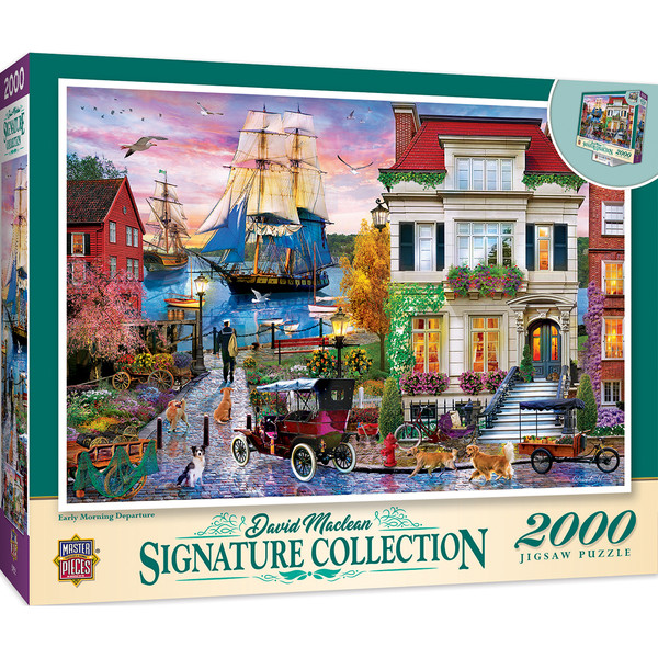 Signature - Early Morning Departure 2000 Piece Puzzle