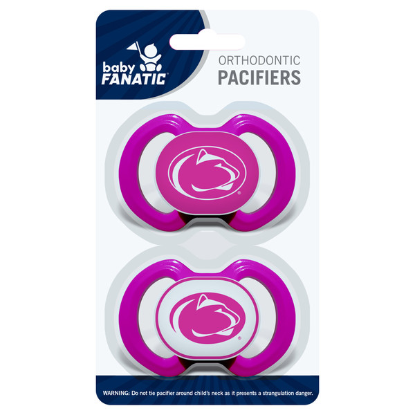 Penn State 2-Pack Pacifier Pink