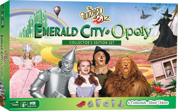 Wizard of Oz Emerald City-Opoly Board Game