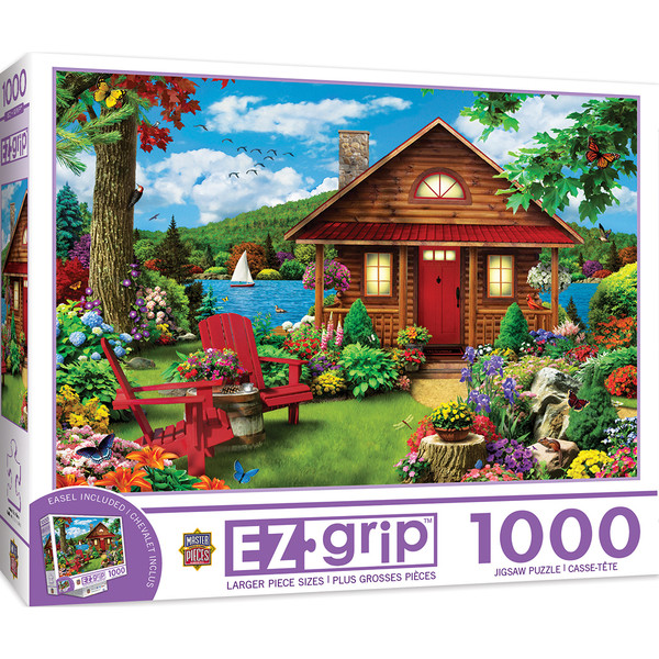 1000EZGrip A Perfect Summer - Large 1000 Piece Jigsaw Puzzle
