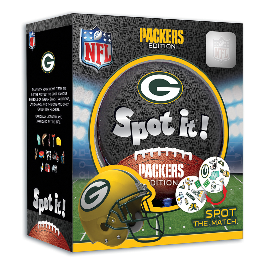 Green Bay Packers Edition MasterPieces NFL Spot It
