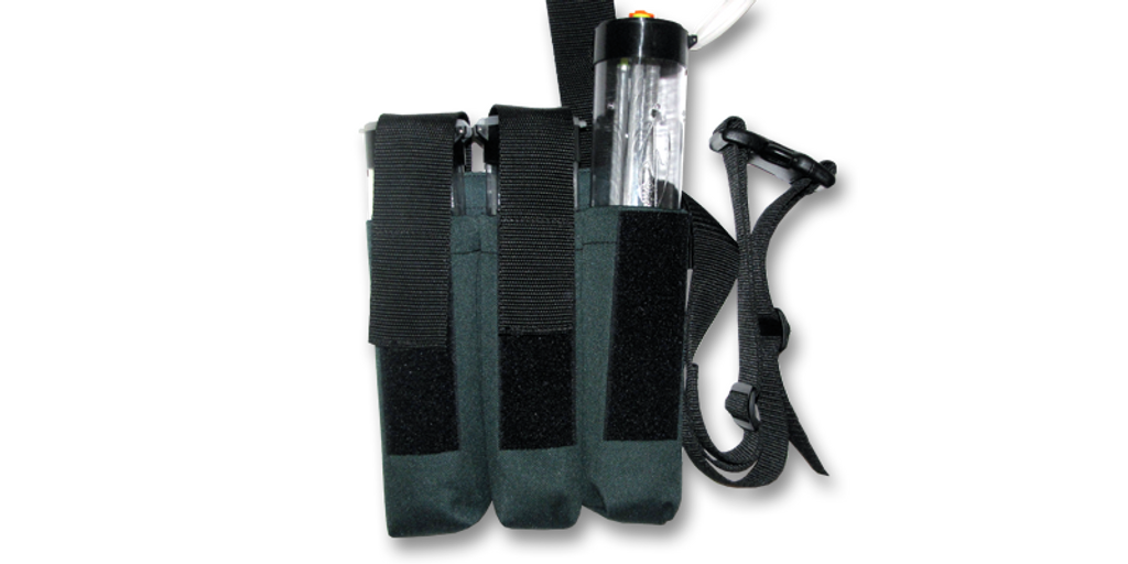 Holster With Tube Inserts