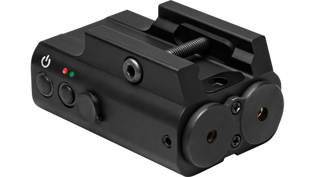 NcSTAR Red & Green Laser W/LED Flashlight & Weaver mount