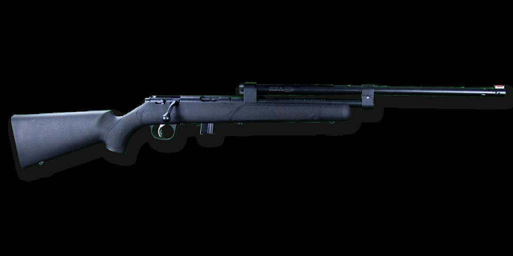 Model 196 (Black Stock, Blued Assembly, Without Optics)