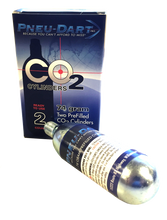 74 Gram Co2 Cylinders | 2 Pack