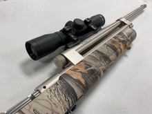 Model 196 (Camo Stock, Electroless-Nickel Assembly, Scope)