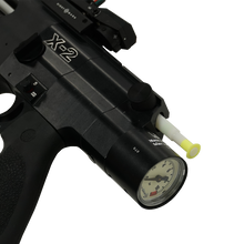 X-2 (Satin Black with Silver Trim)