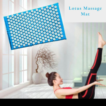 Acupuncture Lotus Massage Mat - Stress Relief Item