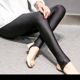 Black Leggings - Shark Skin Design