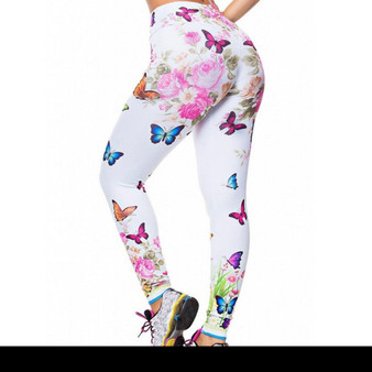 Awesome Leggings - Butterfly Motifs Design