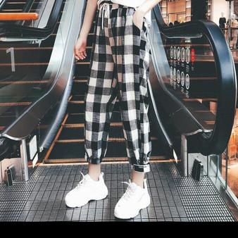 Cute Korean Style Ankle Length Pants