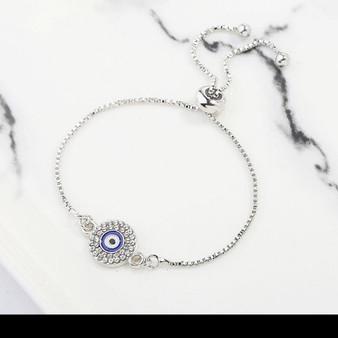 Eastern Evil Eye Charm Bracelet