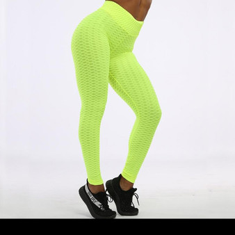Stunning Electric Green Leggings - Sporty Design