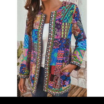 Vintage Ethnic Style Cotton Jacket