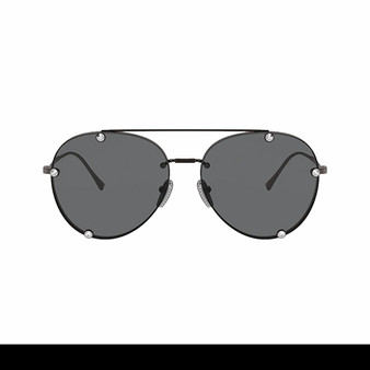 Black Aviator Shades by Valentino - Cover