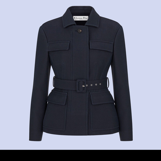 Cover Photo of a Dior Safari Jacket with Belt