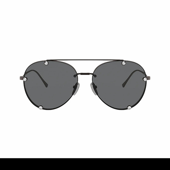 Black Aviator Shades by Valentino - Cover