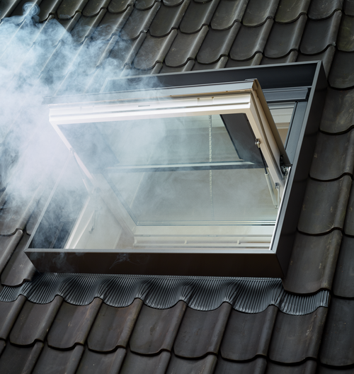 VELUX Wind Deflector for Smoke Vent