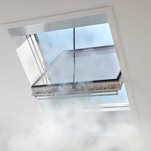VELUX smoke vent interior