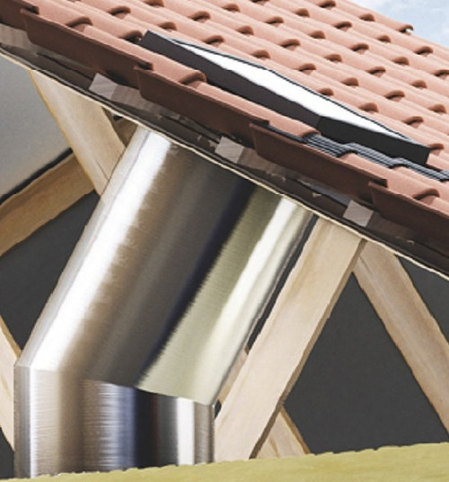 VELUX ZTR Rigid Sun Tunnel Extension